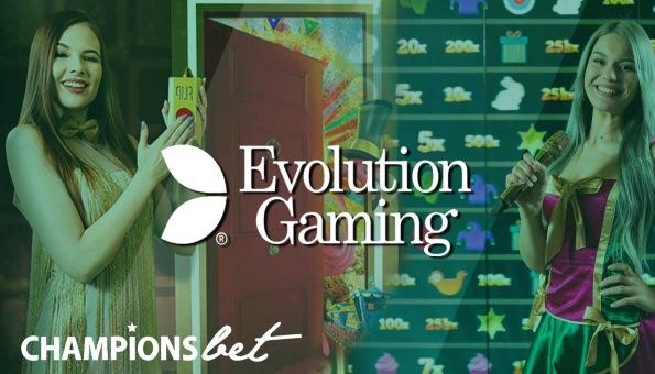 Championsbet live casino Evolution